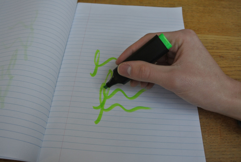 Highlighter marker download free stereo sound effect